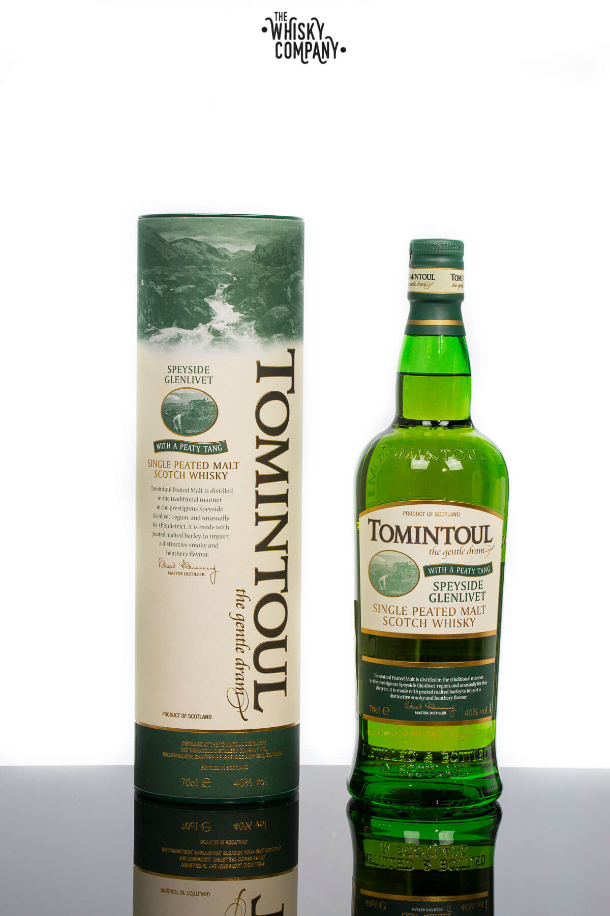 Tomintoul Peaty Tang Speyside Single Malt Scotch Whisky (700ml)