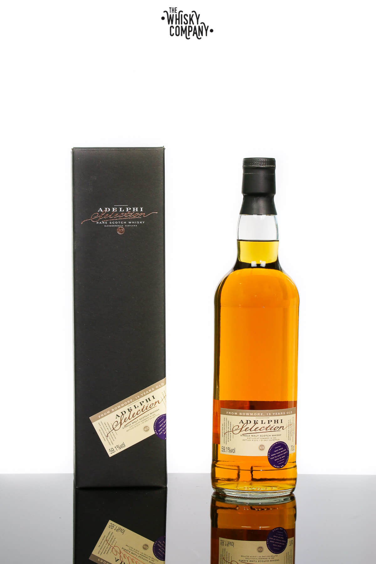 Adelphi 1996 Bowmore 19 Years Old Single Malt Scotch Whisky