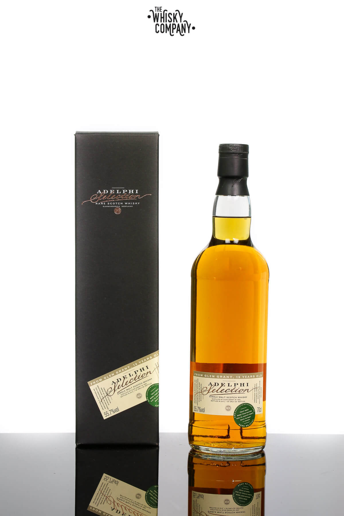 Adelphi 1995 Glen Grant 19 Years Old Single Malt Scotch Whisky