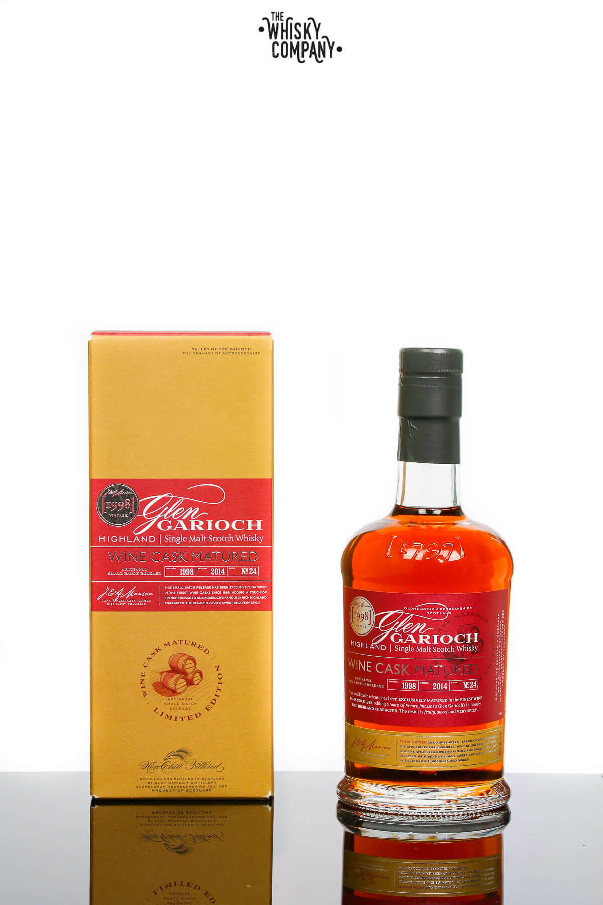 Glen Garioch 1998 Wine Cask Matured Single Malt Scotch Whisky