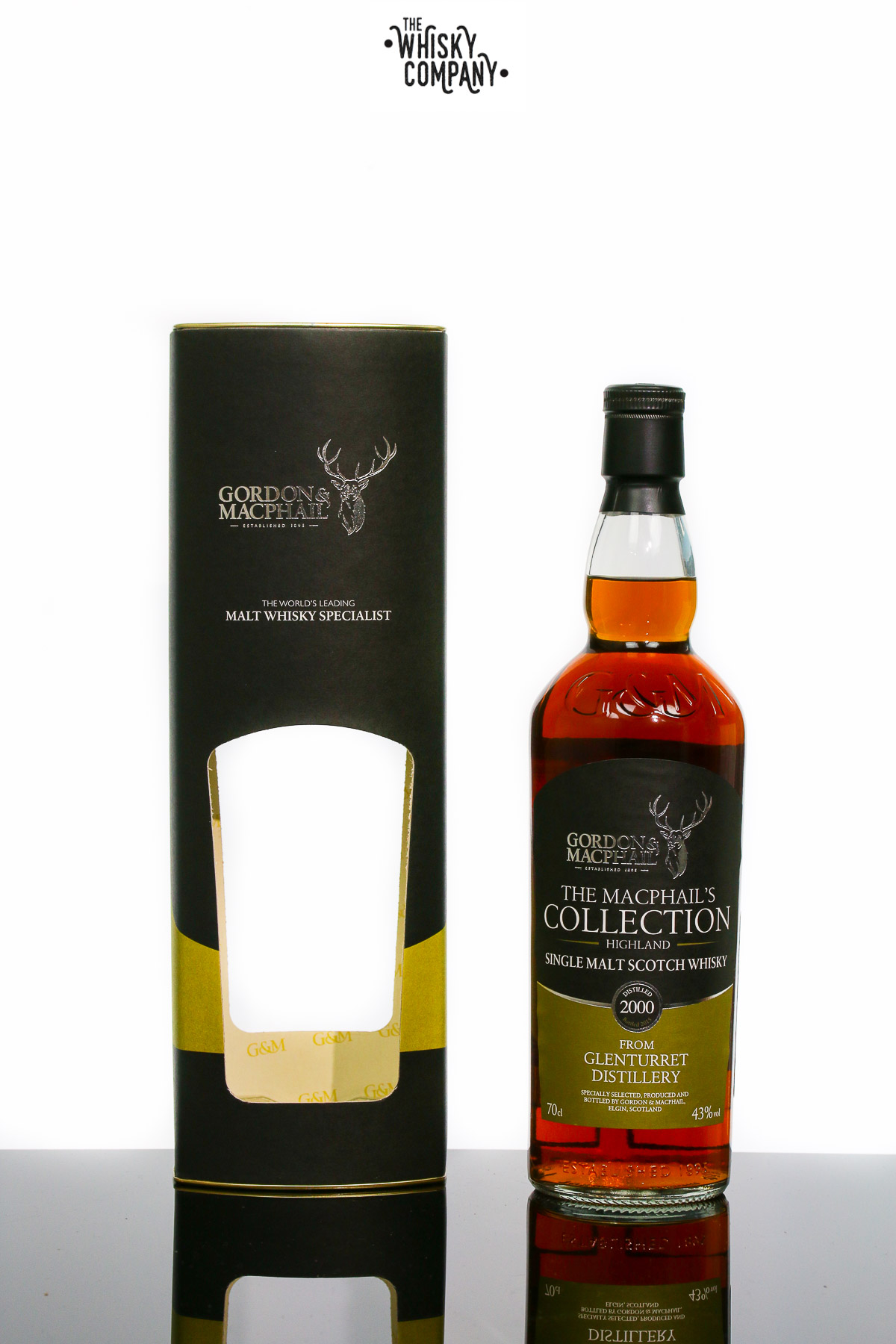 Gordon & MacPhail Glenturret 2000 Highland Single Malt Scotch Whisky