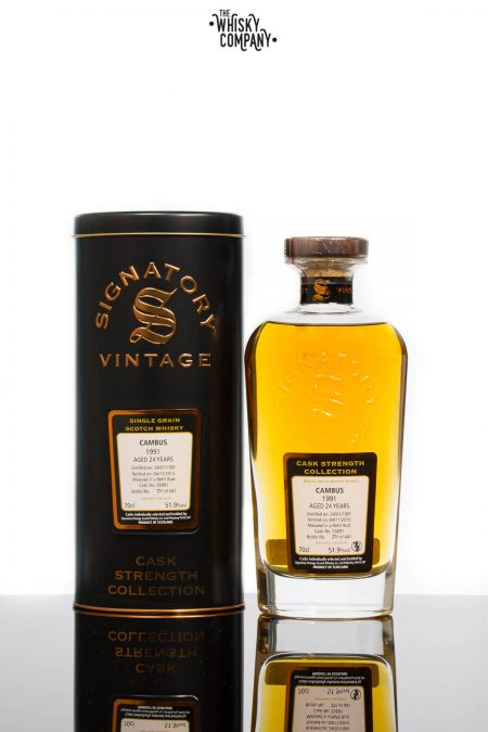 Cambus 1991 Aged 24 Years Single Grain - Signatory Vintage
