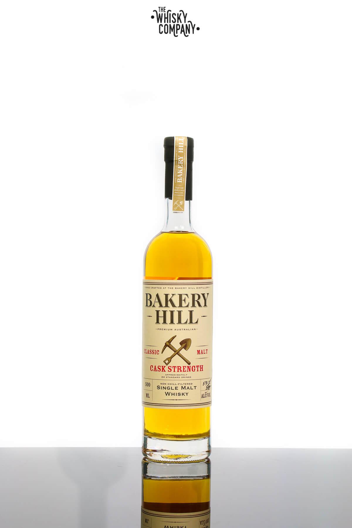 Bakery Hill Classic Malt Cask Strength Australian Single Malt Whisky (500ml)
