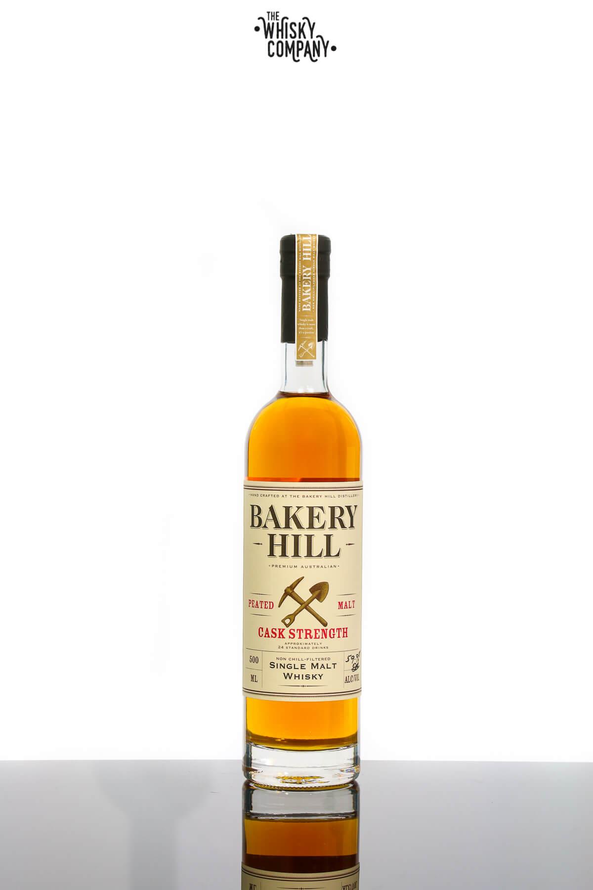 Bakery Hill Peated Malt Cask Strength Australian Single Malt Whisky (500ml)