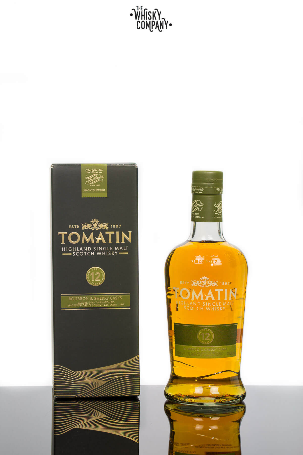 Tomatin 12 Years Old Highland Single Malt Scotch Whisky