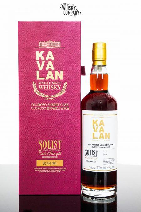 Kavalan Solist Oloroso Sherry Cask Matured Single Malt Whisky (700ml)