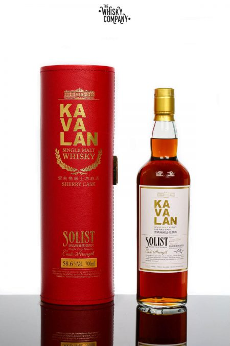 Kavalan Solist Oloroso Sherry Taiwanese Single Malt Whisky (700ml)