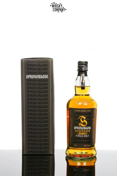 Springbank 2001 8 Years Old Vintage Campbeltown Single Malt Scotch Whisky (700ml)