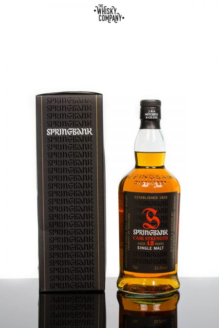 Springbank 12 Years Old Cask Strength 11th Release Single Malt Scotch Whisky (700ml)