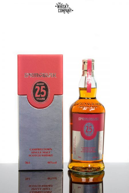 Springbank 25 Years Old Campbeltown Single Malt Scotch Whisky (700ml)