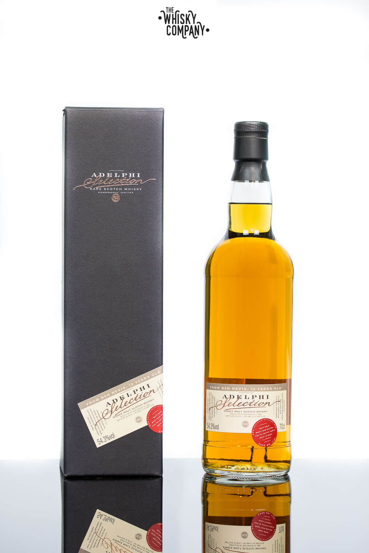 Adelphi 1996 Ben Nevis 18 Years Old Highland Single Malt Scotch Whisky (700ml)