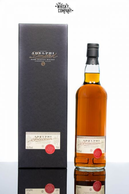 Adelphi 1993 Glen Garioch 22 Years Old Single Malt Scotch Whisky (700ml)