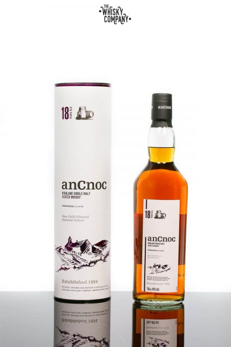 anCnoc 18 Years Old Speyside Single Malt Scotch Whisky