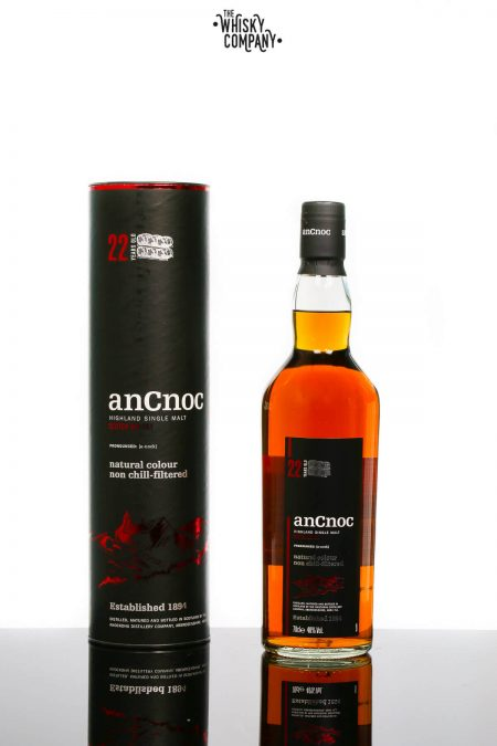 anCnoc 22 Years Old Speyside Single Malt Scotch Whisky