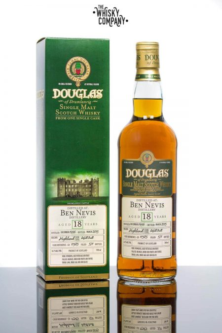 Ben Nevis 1996 Aged 18 Years Single Malt Scotch Whisky - Cask 11385 (700ml)
