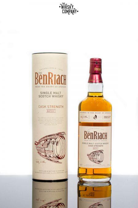 BenRiach Cask Strength Batch 1 Speyside Single Malt Scotch Whisky (700ml)