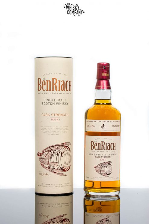 BenRiach Cask Strength Batch 1 Speyside Single Malt Scotch Whisky (700ml)