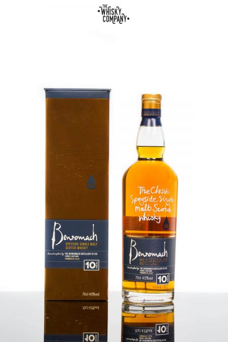 Benromach 10 Years Old Speyside Single Malt Scotch Whisky (700ml)