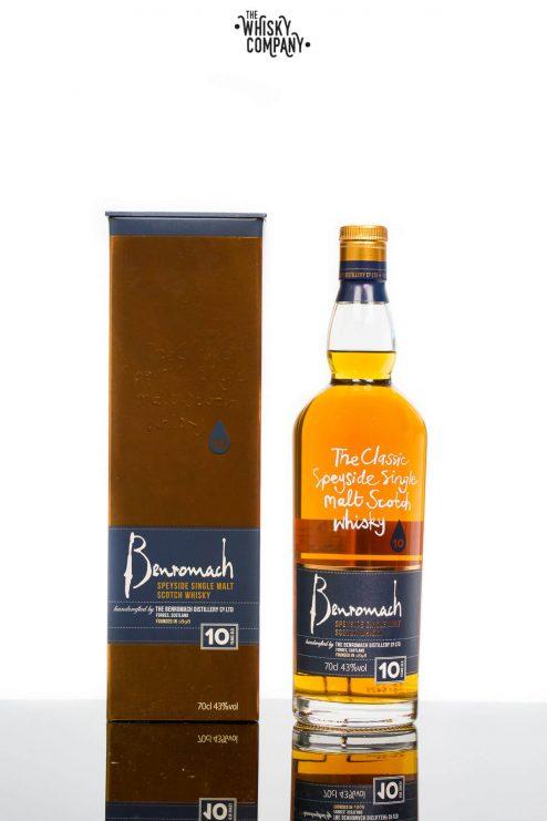 Benromach 10 Years Old Speyside Single Malt Scotch Whisky (700ml)