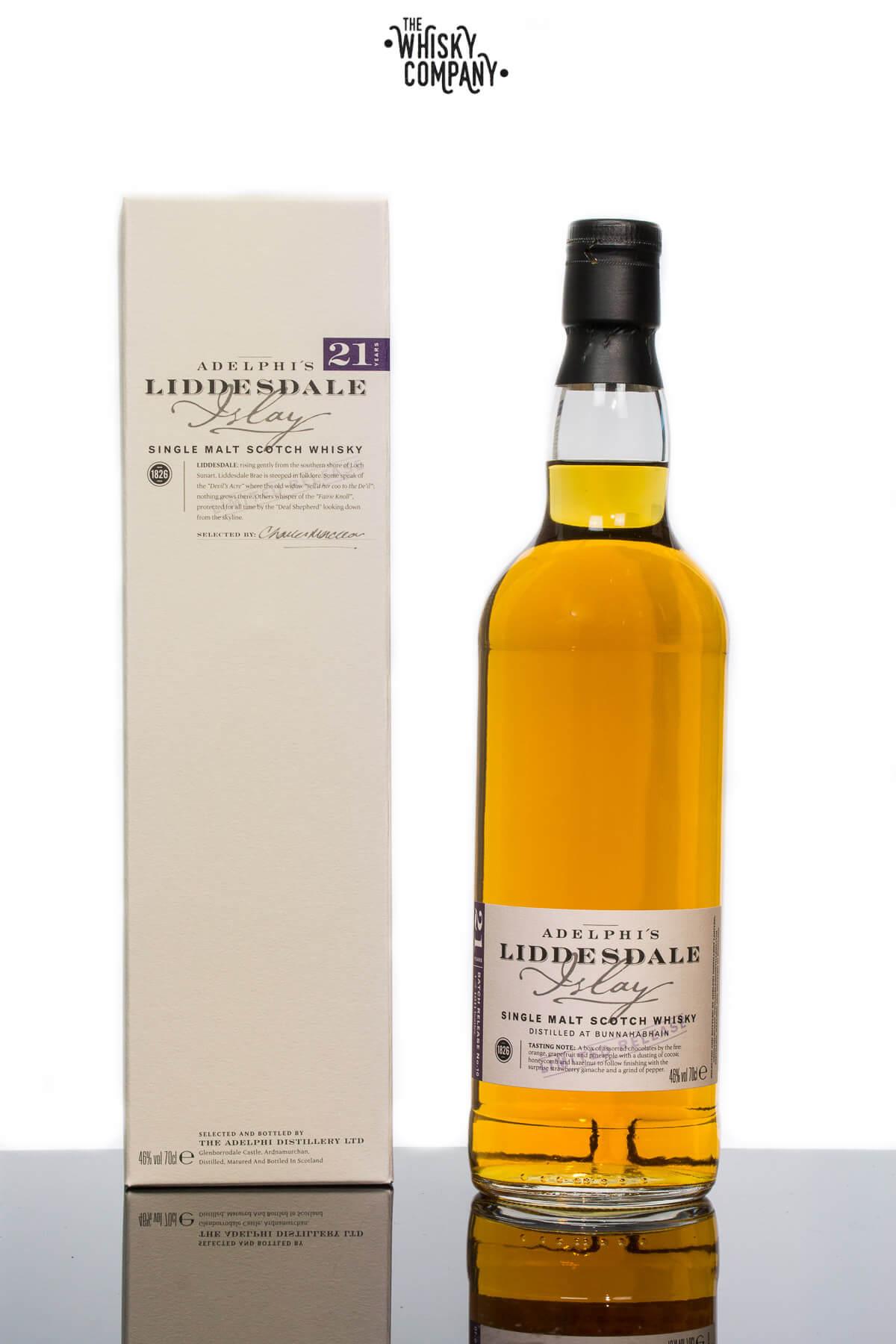 Adelphi Liddesdale Bunnahabhain 21 Years Old Single Malt Scotch Whisky