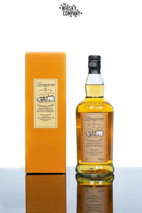 Longrow Aged 10 Years Campbeltown Single Malt Scotch Whisky
