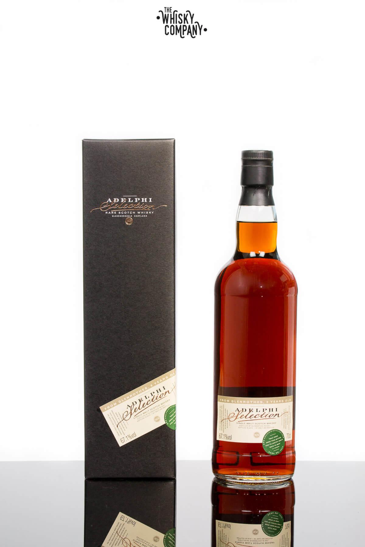 Adelphi 2007 Glenrothes 9 Years Old Speyside Single Malt Scotch Whisky (700ml)