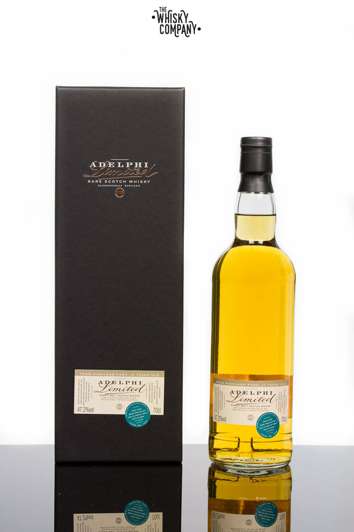 Adelphi 1989 Highland Park 26 Years Old Island Single Malt Scotch Whisky (700ml)