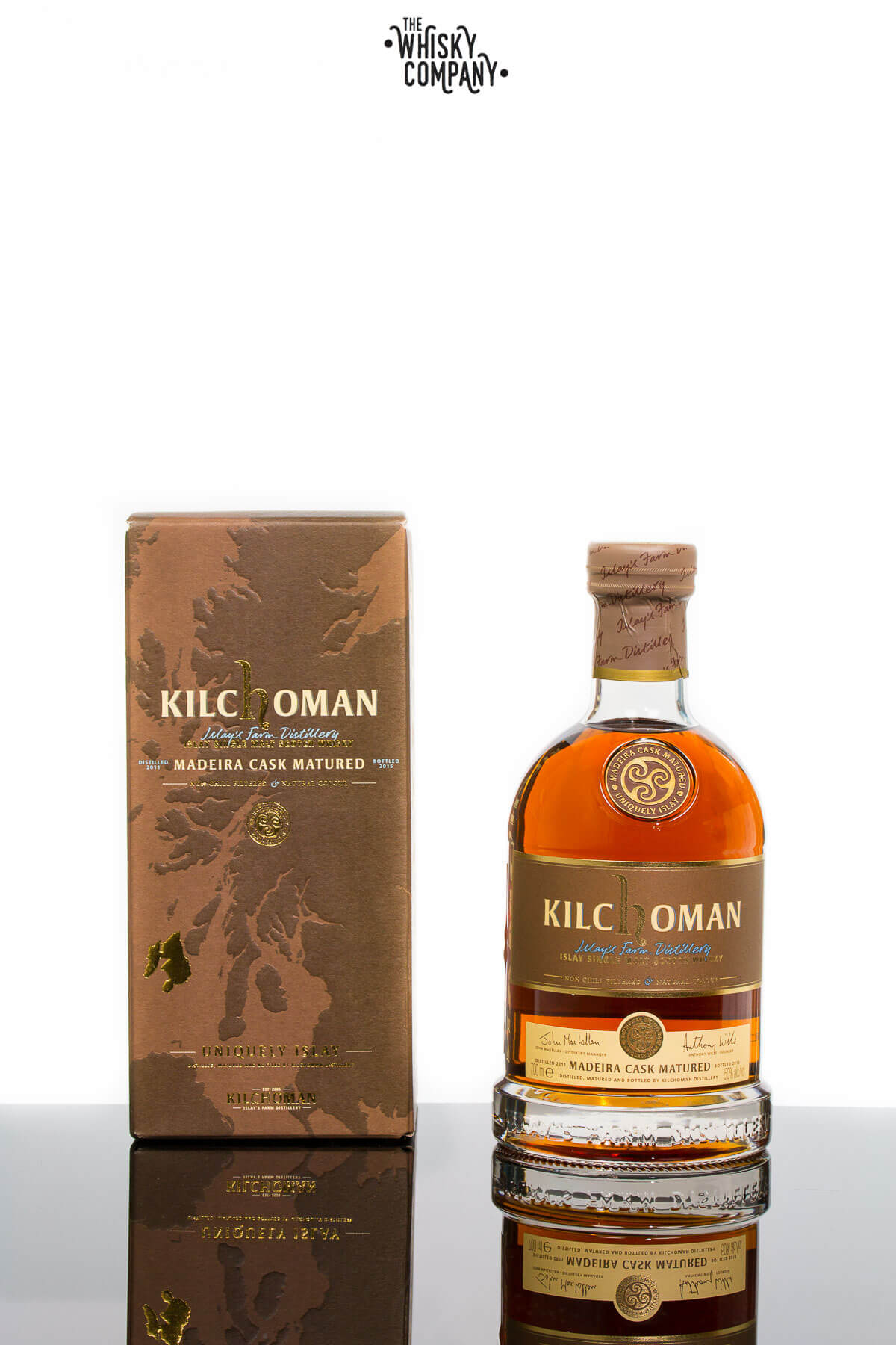 Kilchoman 2011 Madeira Cask Matured Single Cask Islay Single Malt Scotch Whisky