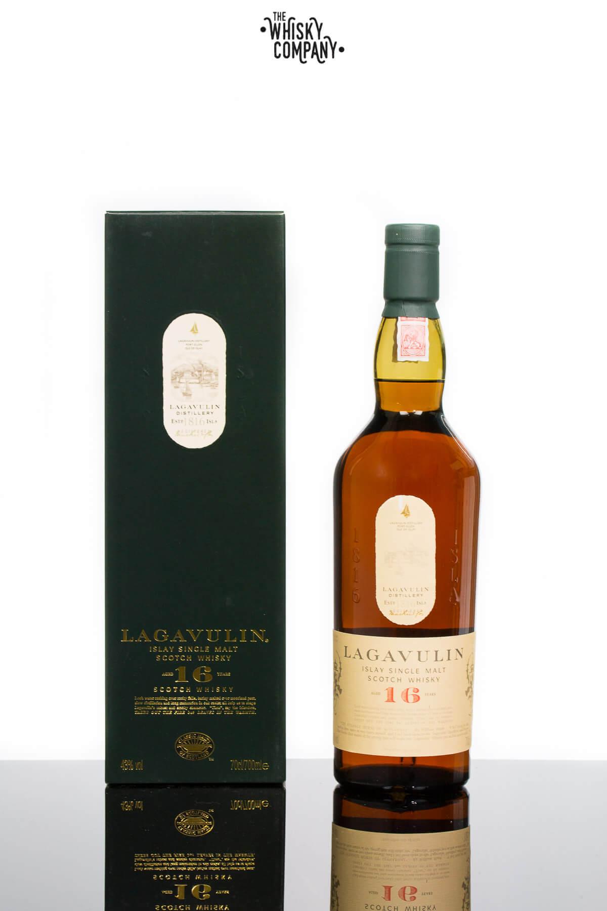Lagavulin Aged 16 Years Islay Single Malt Scotch Whisky