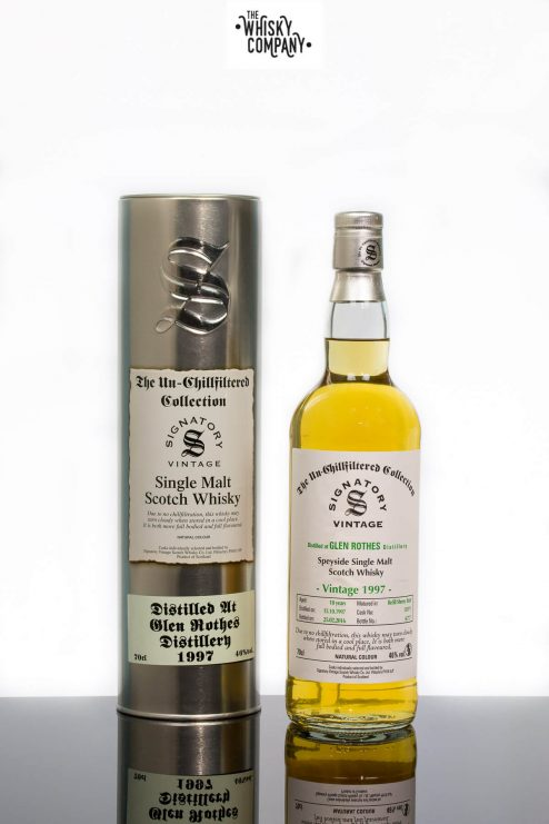 Glen Rothes 1997 Aged 18 Years - Signatory Vintage