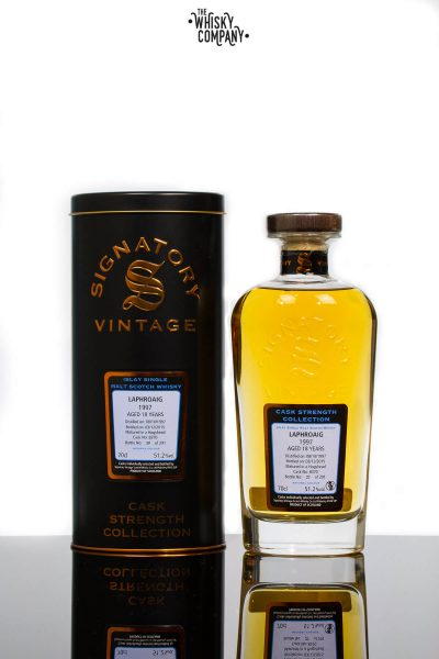 the_whisky_company_signatory_vintage_laphroaig_1997_aged_18_years_cask_strength_islay_single_malt_scotch_whisky (1 of 1)