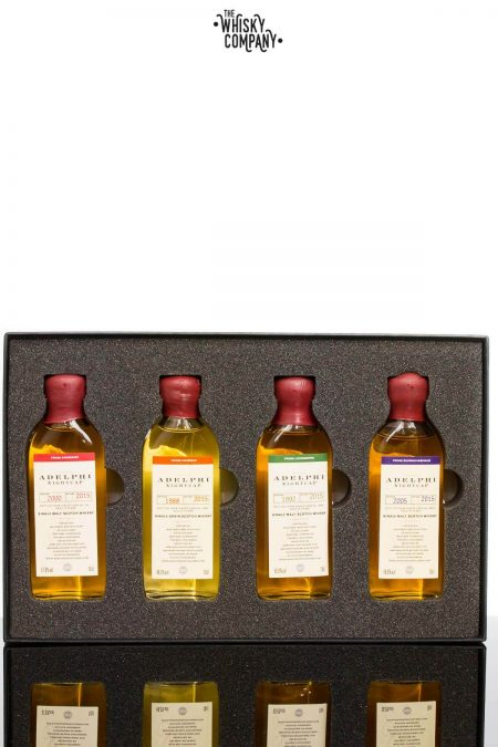 Adelphi Nightcap Edition 6 Cask Strength Single Malt Scotch Whisky Gift Pack