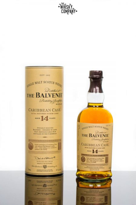 The Balvenie Aged 14 Years Caribbean Cask Speyside Single Malt Scotch Whisky (700ml)