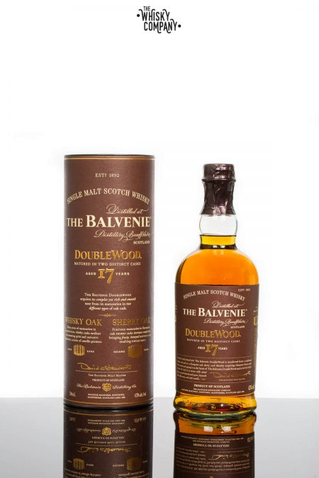 The Balvenie Aged 17 Years Doublewood Speyside Single Malt Scotch Whisky (700ml)