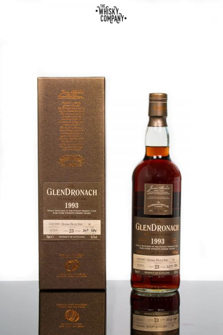 GlenDronach 1993 Aged 23 Years Single Malt Scotch Whisky