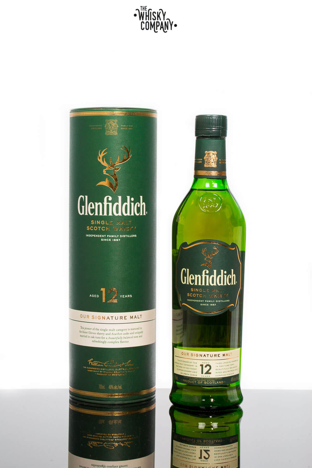 Glenfiddich Aged 12 Years Speyside Single Malt Scotch Whisky