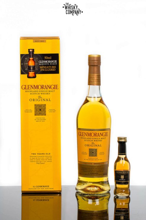 Glenmorangie The Original 10 Years Old Gift Pack Highland Single Malt Scotch Whisky