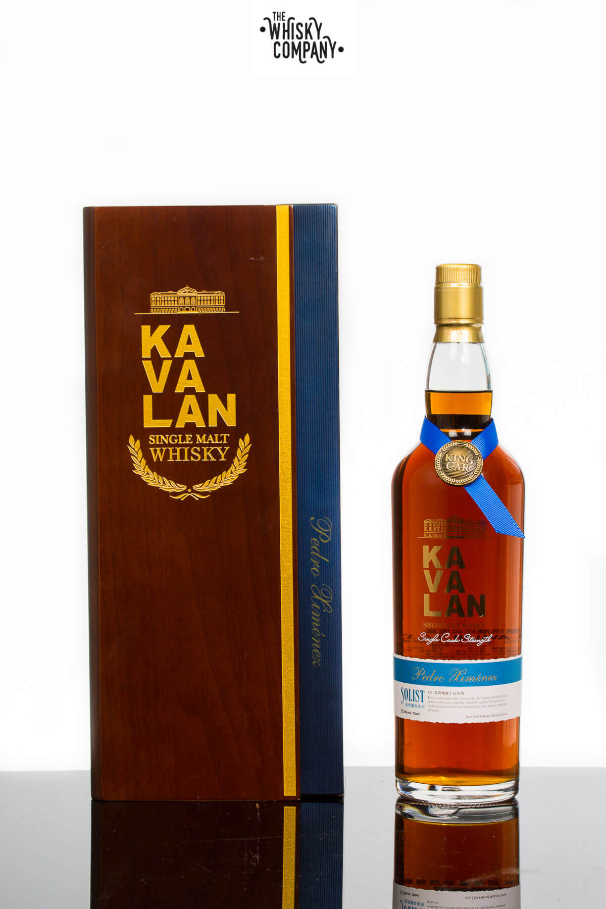 Kavalan Solist Pedro Ximenez Taiwanese Single Malt Whisky (750ml)