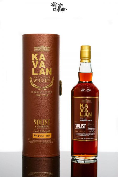 Kavalan Solist Port Cask Taiwanese Single Malt Whisky (700ml)