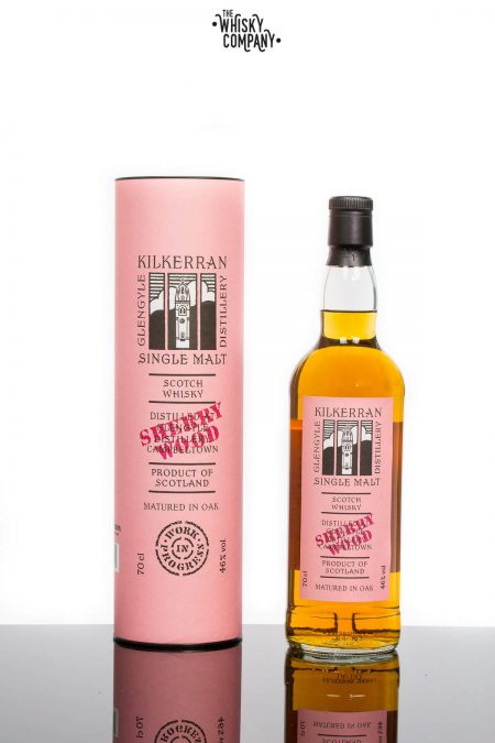Kilkerran Work In Progress 6 Sherry Wood Campbeltown Single Malt Scotch Whisky