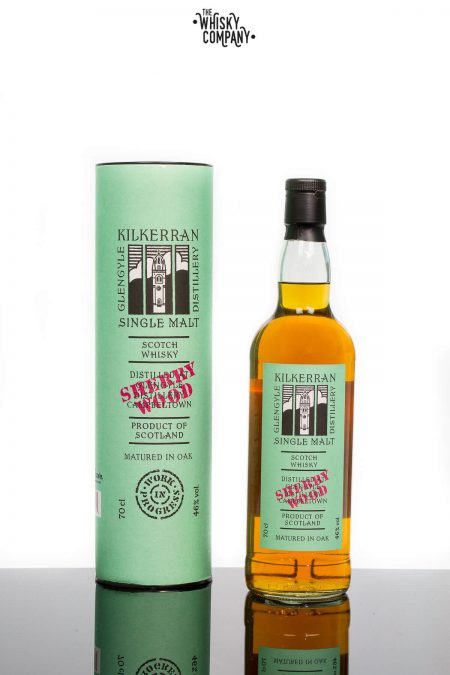 Kilkerran Work In Progress 7 Sherry Wood Campbeltown Single Malt Scotch Whisky
