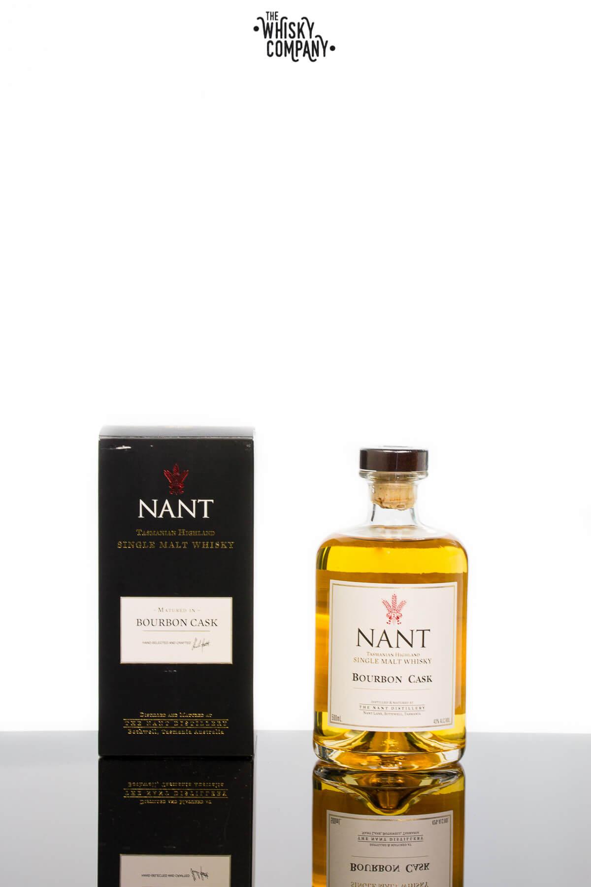 Nant Bourbon Cask Matured Tasmanian Highland Single Malt Whisky (500ml)