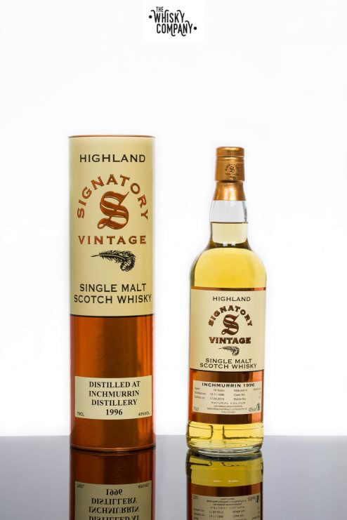 Inchmurrin 1996 Aged 18 Years (cask 30) Single Malt Scotch Whisky - Signatory Vintage (700ml)