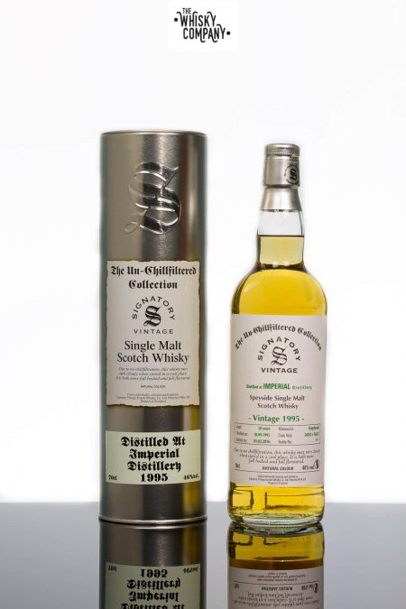 Imperial 1995 Aged 20 Years Single Malt Scotch Whisky - Signatory Vintage (700ml)