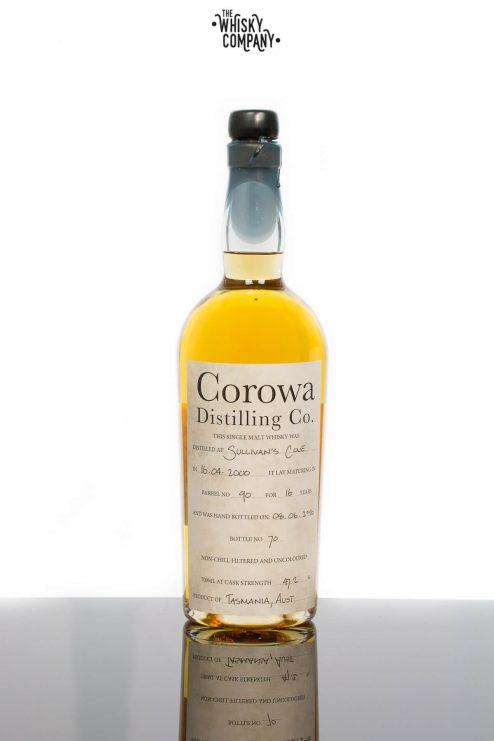Sullivans Cove Aged 16 Years Bottled by Corowa Distillery Tasmanian Single Malt Whisky (700ml)