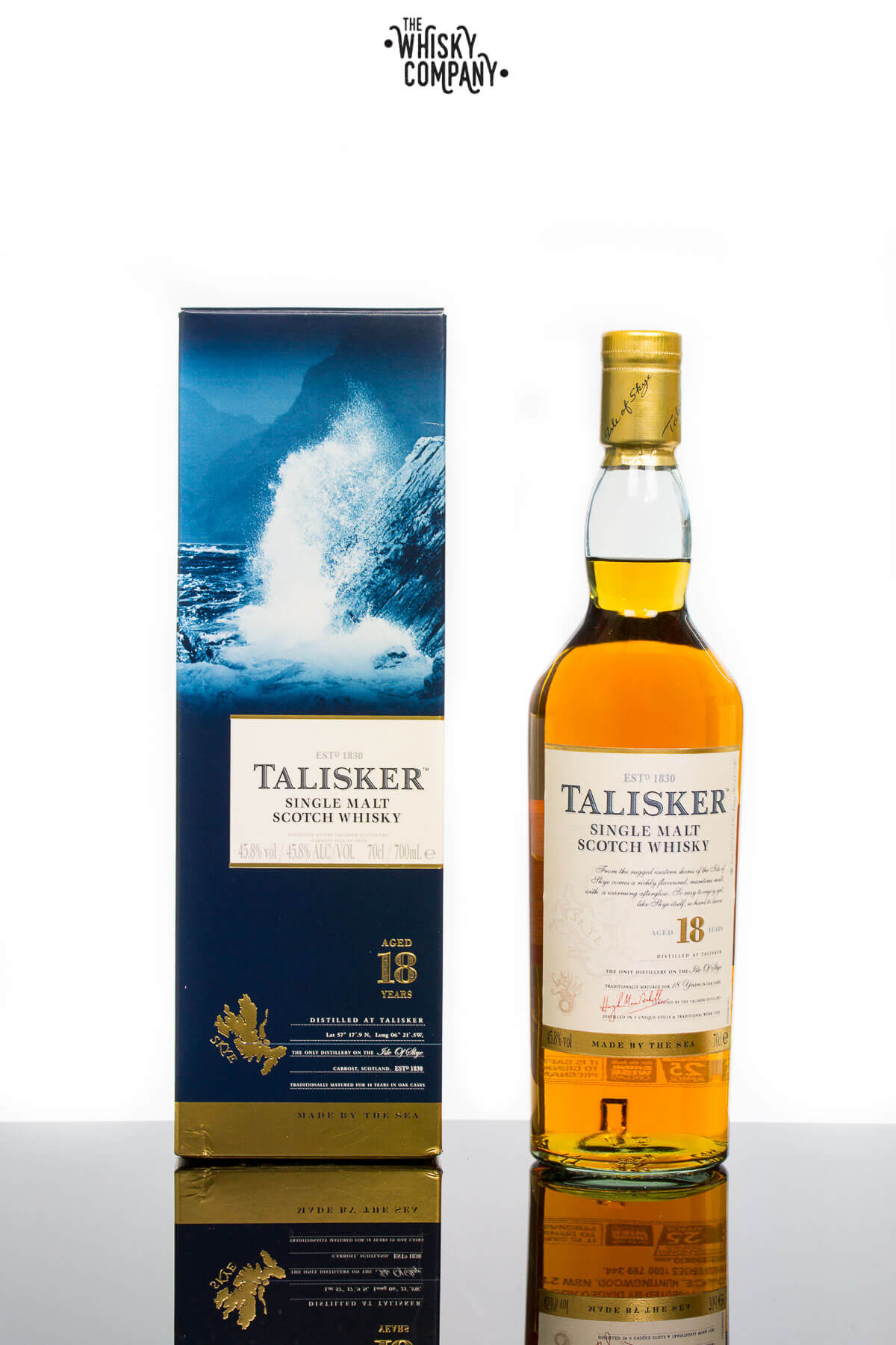 Talisker Aged 18 Years Island Single Malt Scotch Whisky