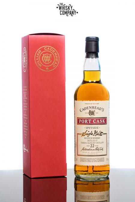 Cadenheads Tamdhu Glenlivet Port Cask Aged 22 Years Speyside Single Malt Scotch Whisky