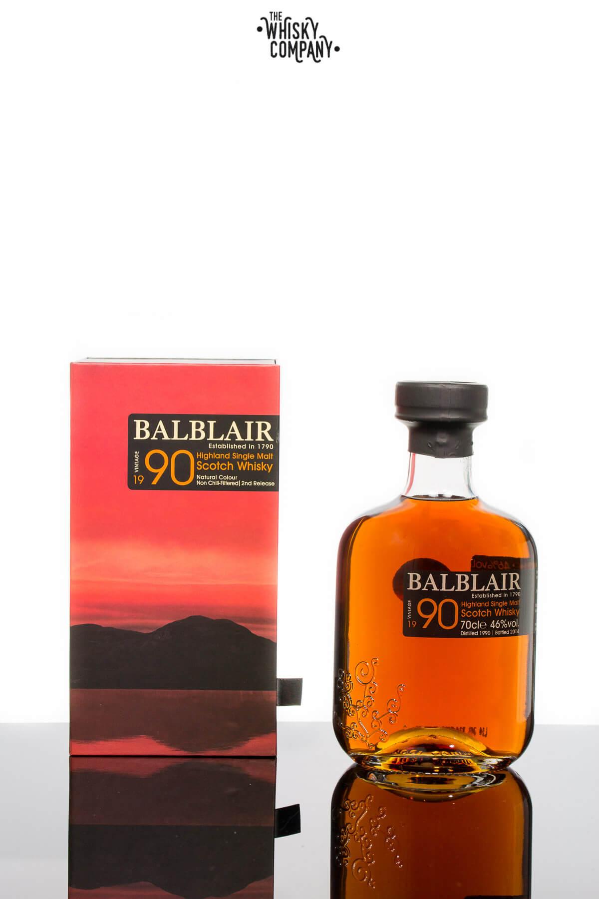 Balblair 1990 Vintage Highland Single Malt Scotch Whisky (700ml)