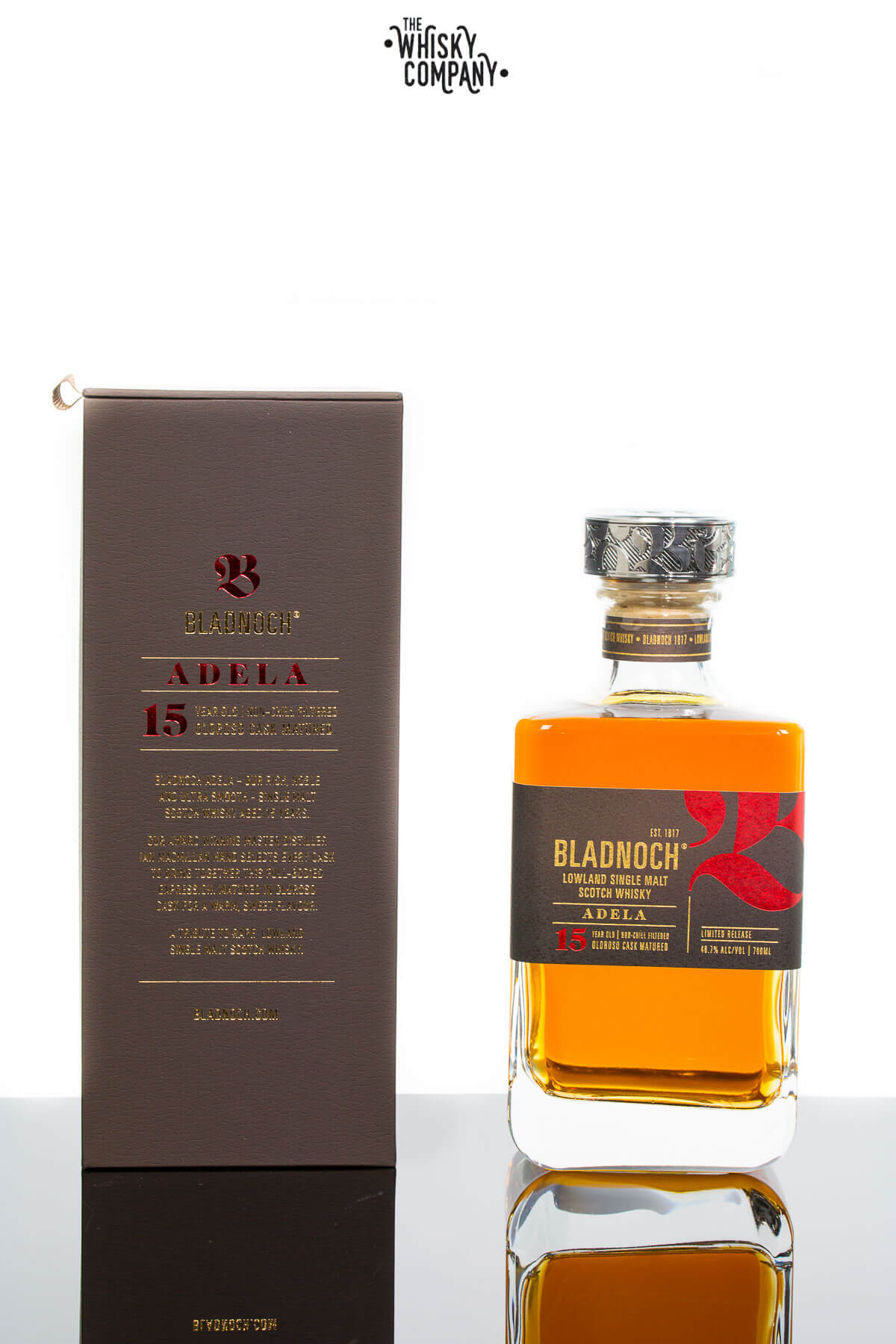 Bladnoch Adela 15 Years Old Lowland Single Malt Scotch Whisky (700ml)