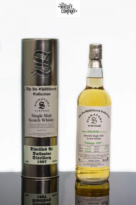 Dailuaine 1997 Aged 19 Years Single Malt Scotch Whisky - Signatory Vintage (700ml)